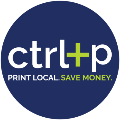 CTRL+P. Print Local. Save Money